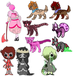 Selling old unsold Adopts [ closed ] by pxcarats