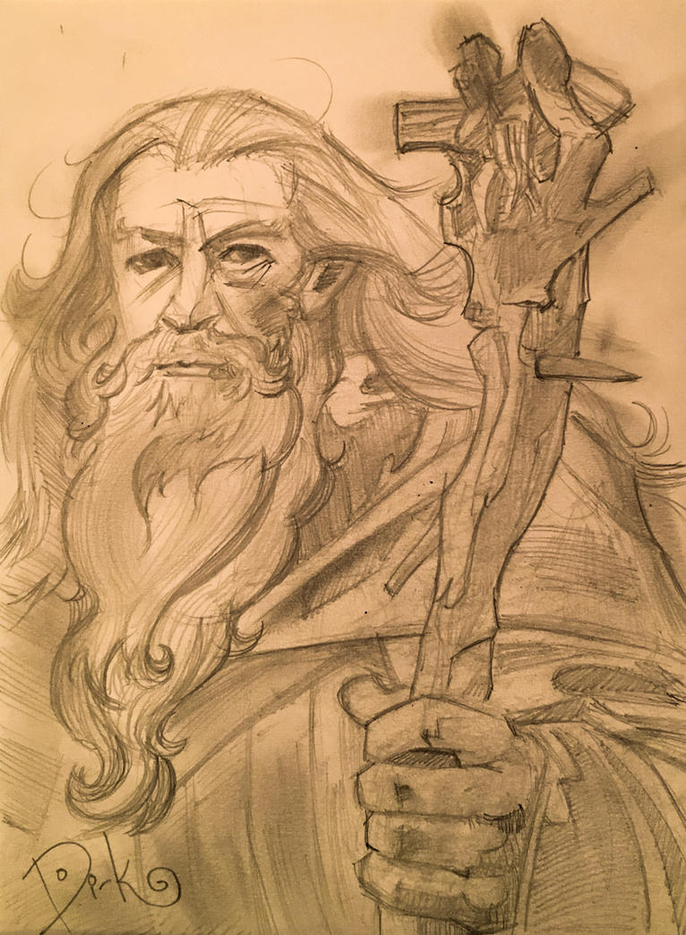 Gandalf  by DirkHooper