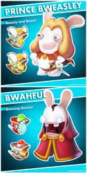 Mario + Rabbids Kingdom Battle Characters