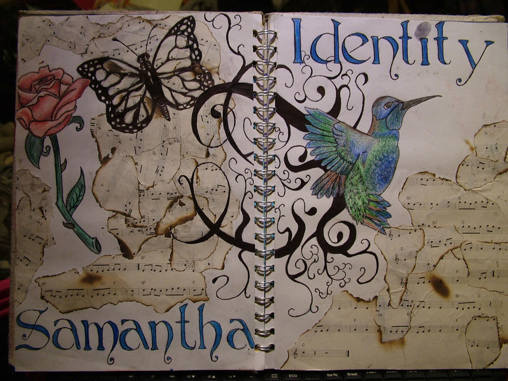 Art Book Cover Page Designs : Identity title page by samosauruslee on deviantart