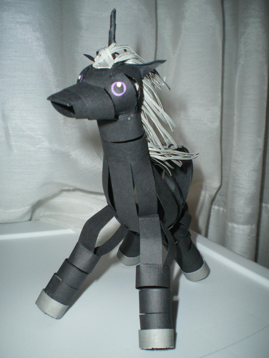Unicorn front view by melpk
