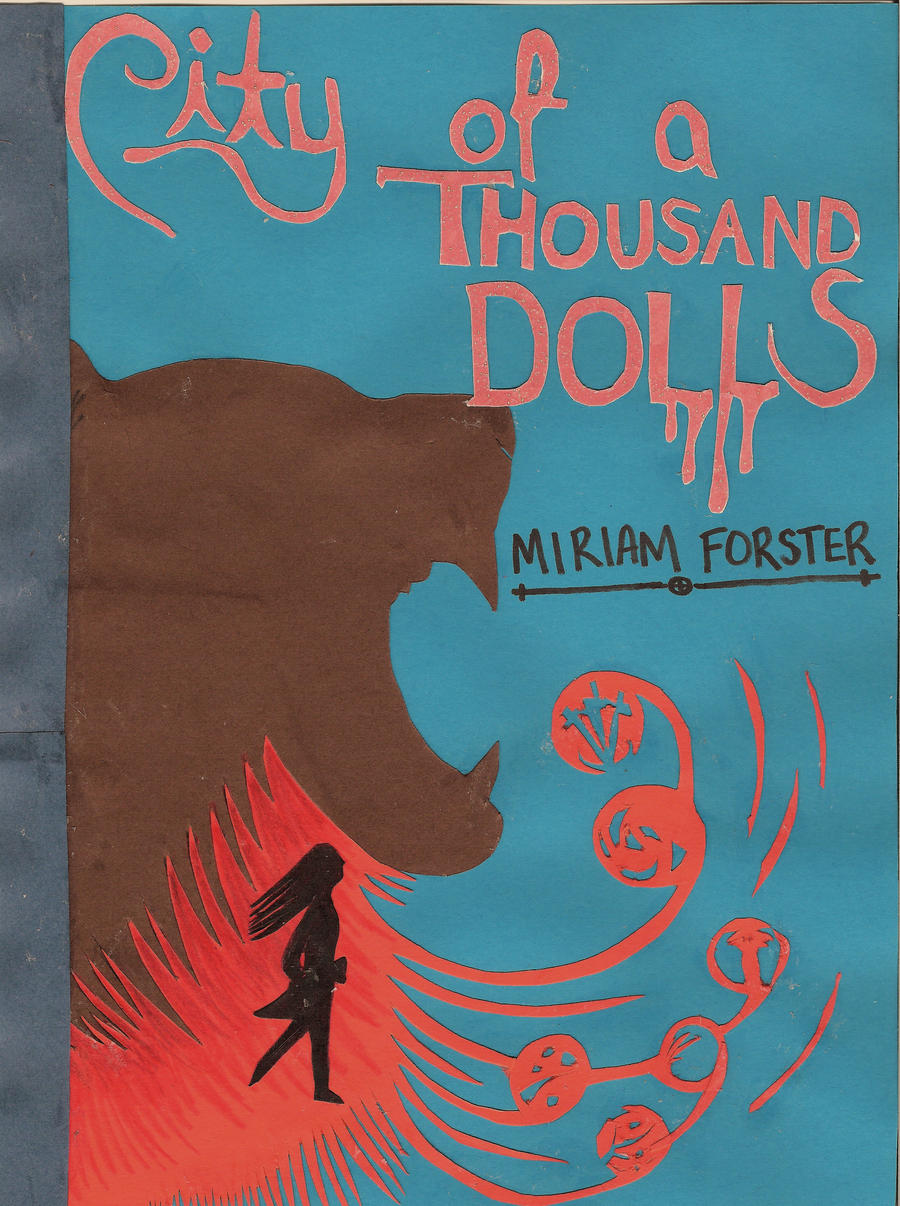 City of a Thousand Dolls Cover Design Challenge by melpk