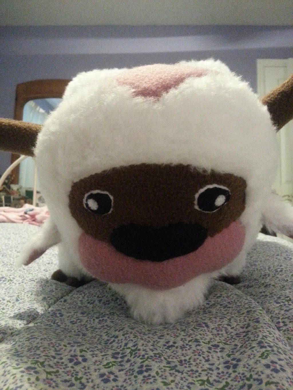 appa large stuffed animal for sale by melpk on deviantart. Black Bedroom Furniture Sets. Home Design Ideas