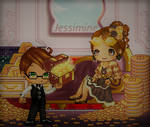 FFC #47  What's luxury without a butler? by Jessimine