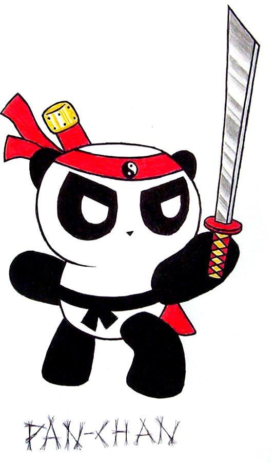 Kung-Fu Fighting Panda by Kirbeanie08 on DeviantArt