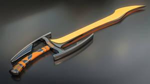 Sci-fi Sword 1 by AH-Kai