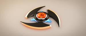 Sci-fi Shuriken by AH-Kai