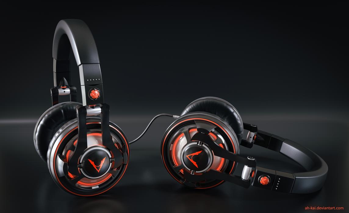 Headphones by AH-Kai