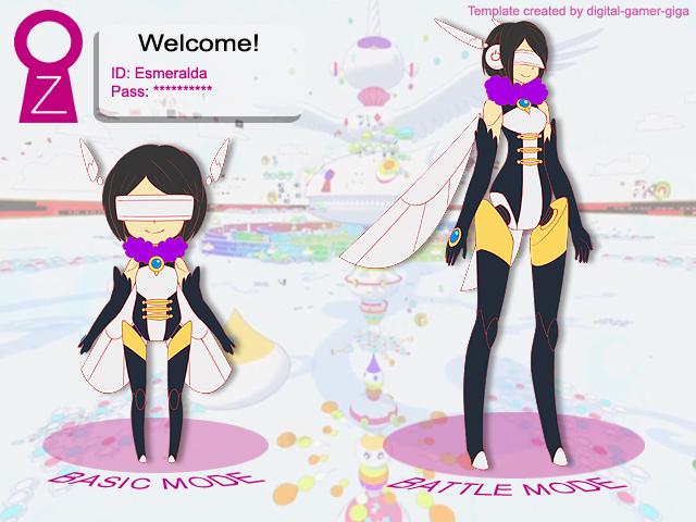 OZ Avatar Meme: Esmeralda by Keichan411