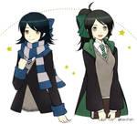 Pottermore oc Nurun and Kei *updated*