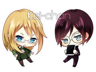 -Genderbend Togafuka- by Keichan411