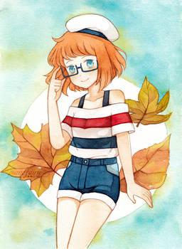 -Autumn leaves-