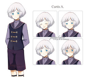 Curtis character+expression sheet
