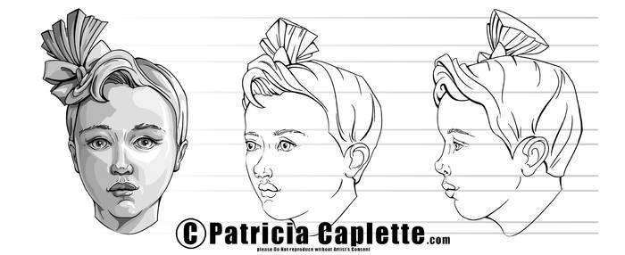 Head Turn Around- Child by plcaplette
