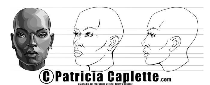 Head Turn Around- Woman by plcaplette