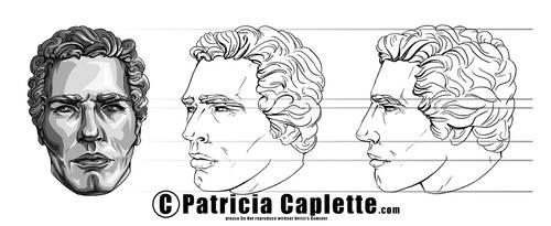 Head Turn Around- Man by plcaplette