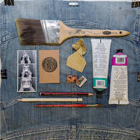 Tools of the trade with RB resident artists