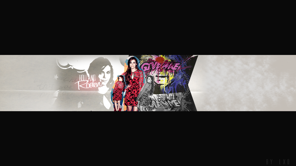 Holland Roden YouTube Header by lightningxdisaster on DeviantArt
