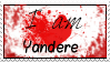 I am Yandere Stamp by Marixrush
