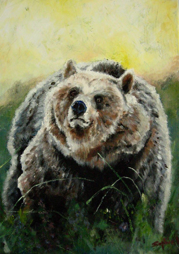 A bear by sophelia