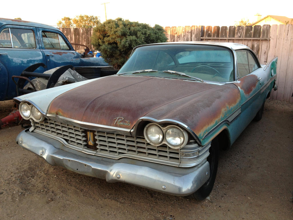 1958 Plymouth Fury For Sale >> 1959 Plymouth Fury by Silverperzon on DeviantArt