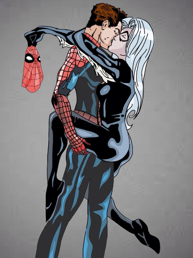 Spiderman Kissing Black Cat Videos