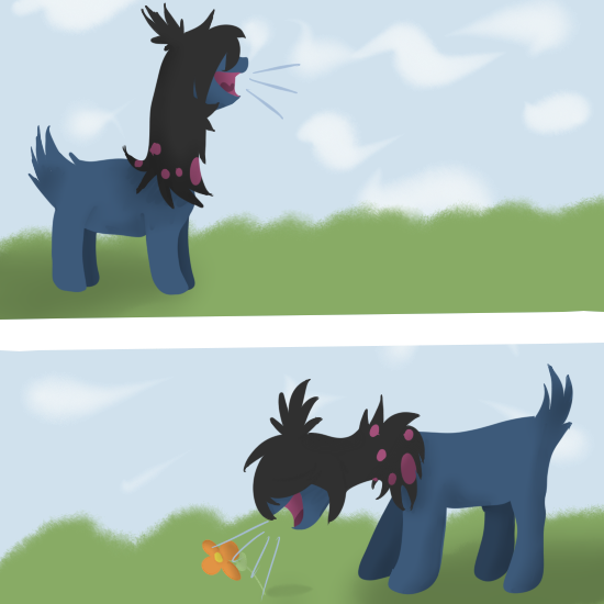 Drop it! {Marieke's art-dump-topic} Parpg___and_you_re_gonna_hear_me_roar__by_ticktackie-d8698wr
