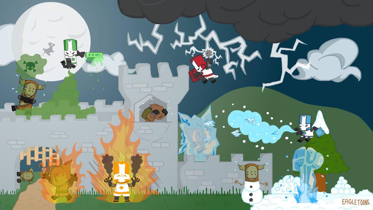 Castle Crashers Fanart by eagletoons on DeviantArt on