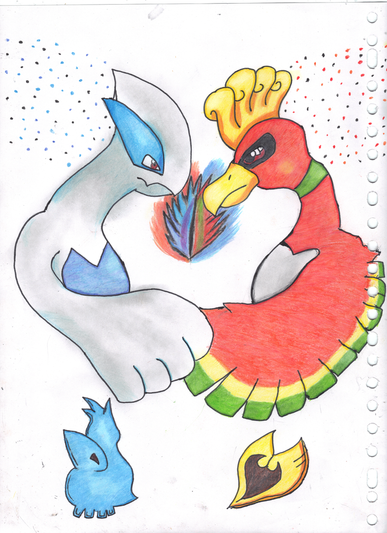 how to make ho oh appear in heartgold