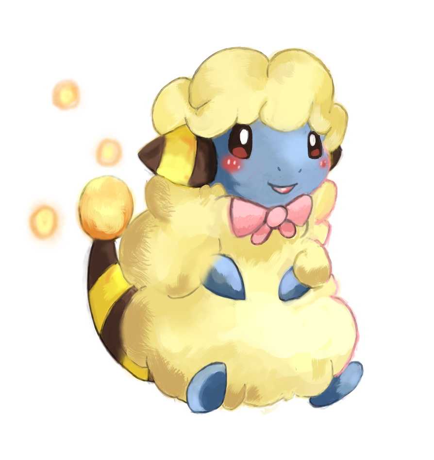 Bella The Mareep by LizardonEievui13