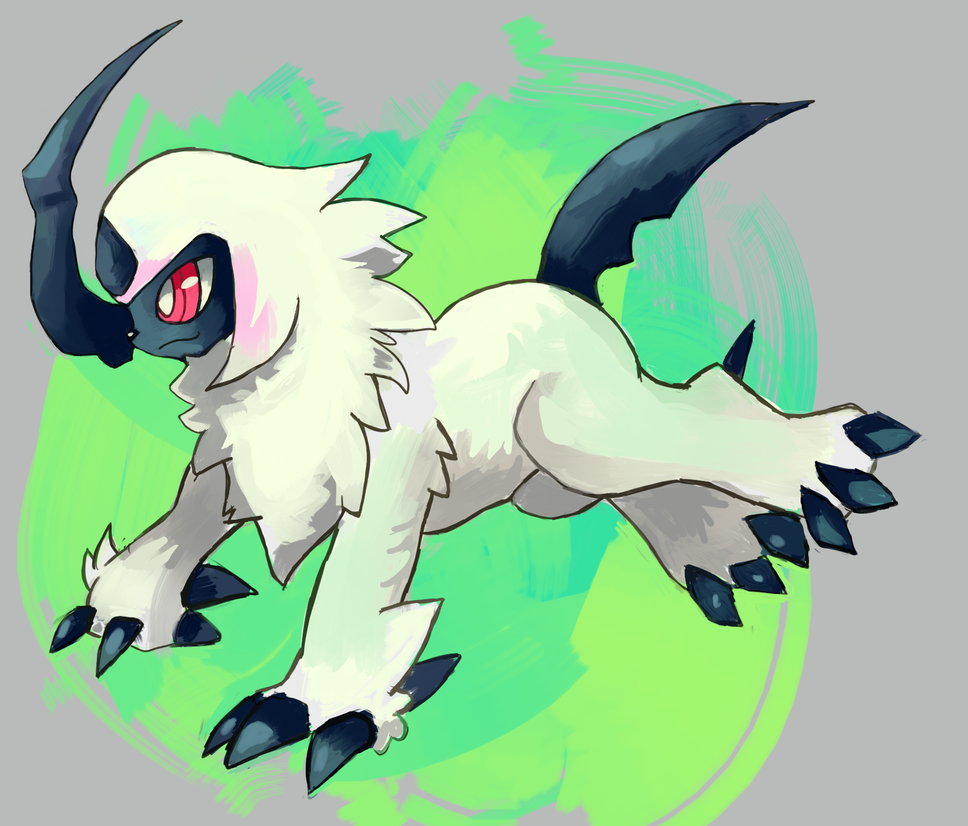 Absol by LizardonEievui13