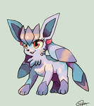 Minie the Glaceon