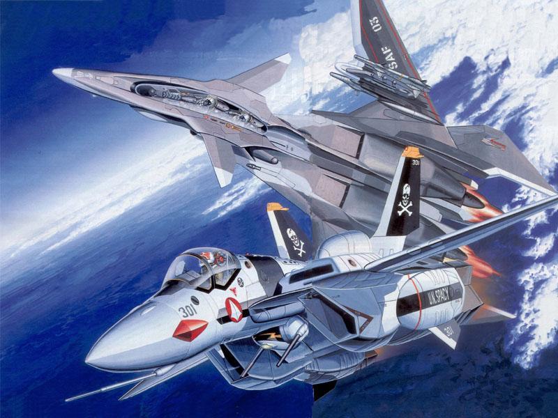 Yukikaze Macross by AkatsukiR3DBL4CK