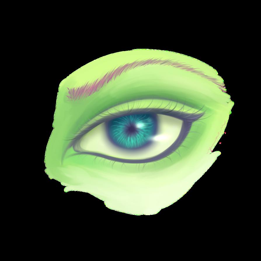 look at my eye by Purinsesu-sama