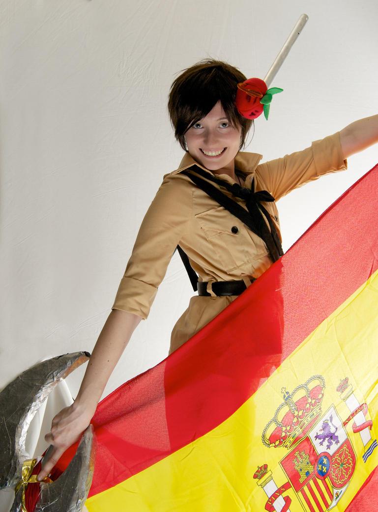 Hetalia - The Pride of Spain by SuperWeaselPrincess