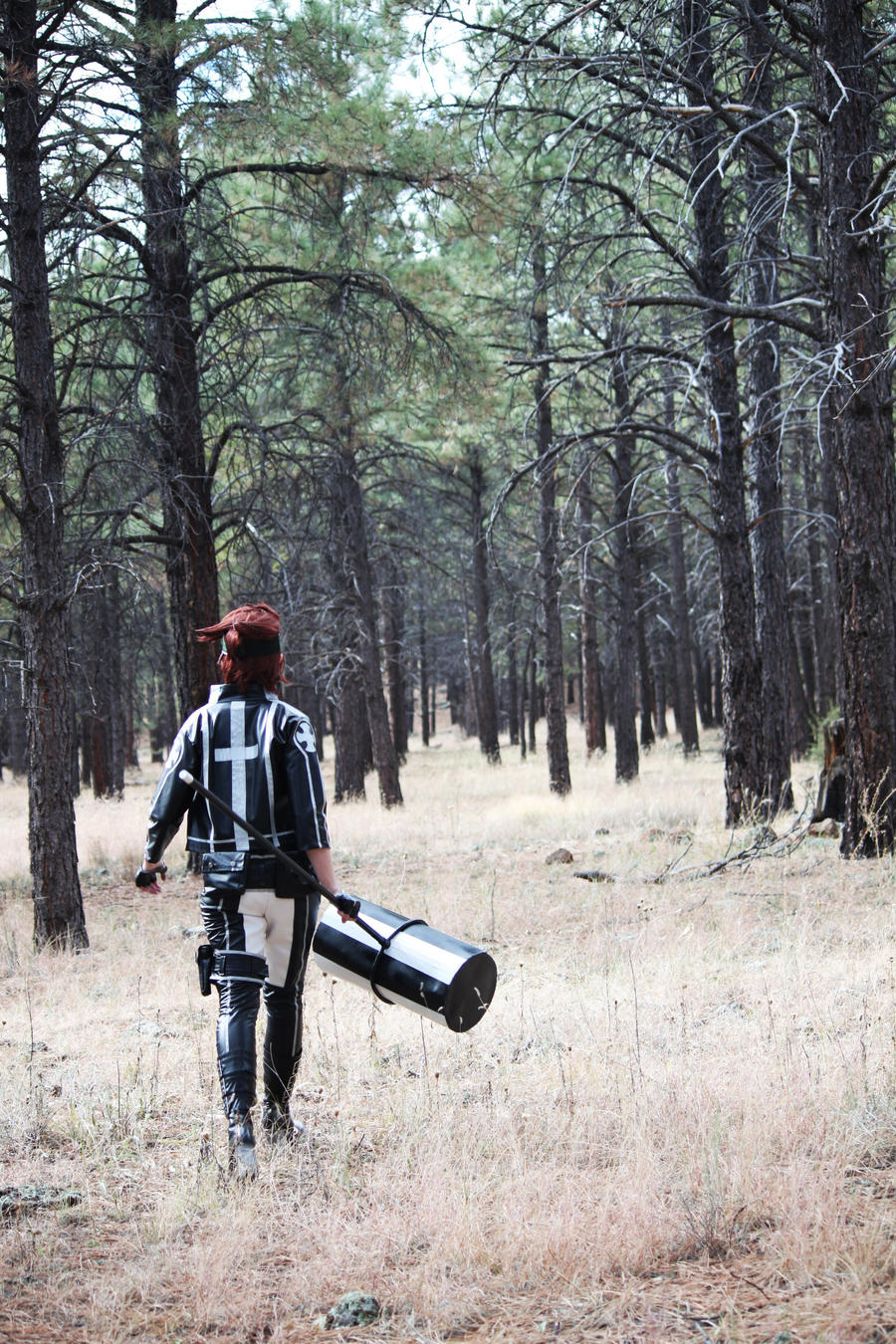 D. Gray-man - Into the Dark Forest by SuperWeaselPrincess
