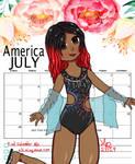 America (July Humanized)