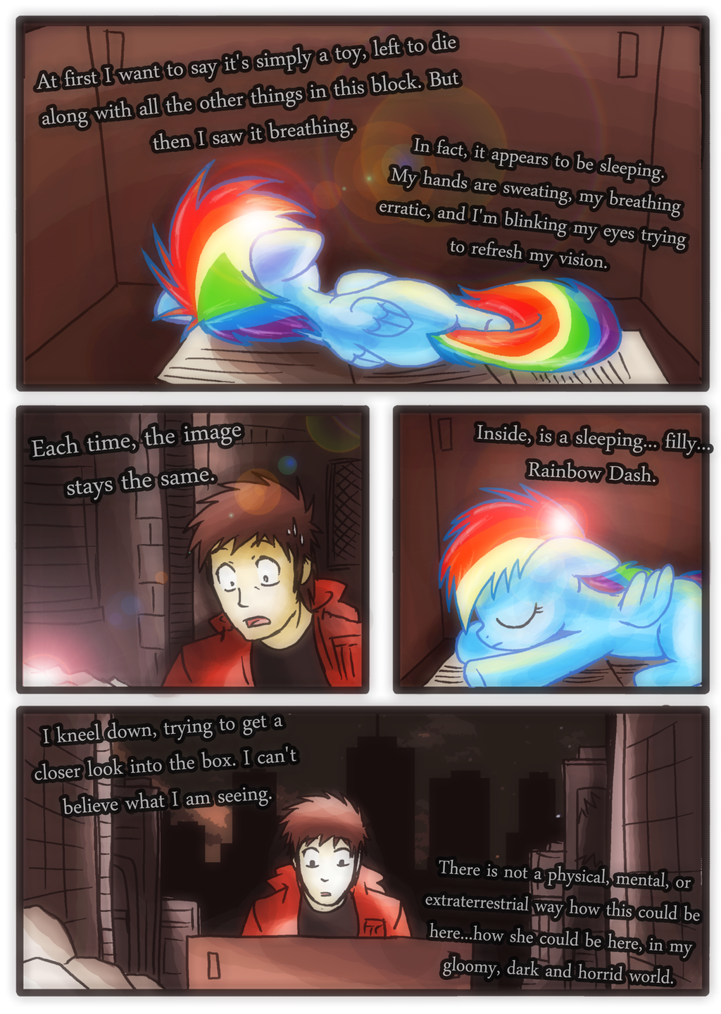 My Little Dashie The Comic PAGE 14 By WaItzBrony On