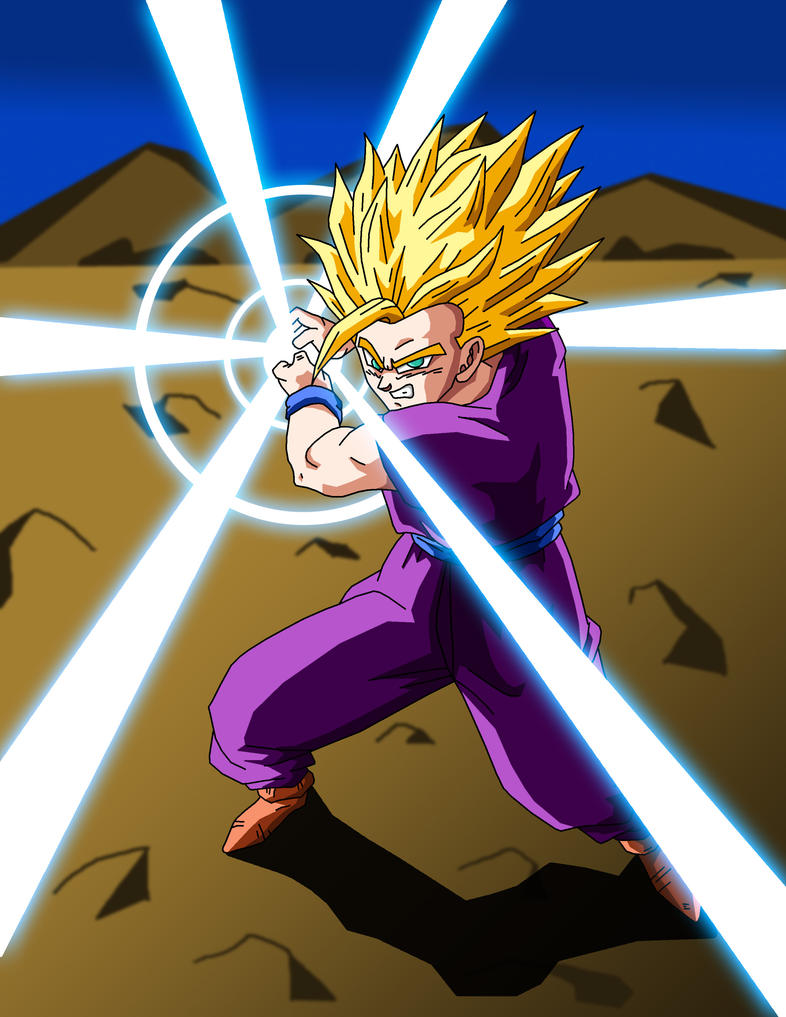 gohan super kamehameha by Animefreakazoid6 on DeviantArt
