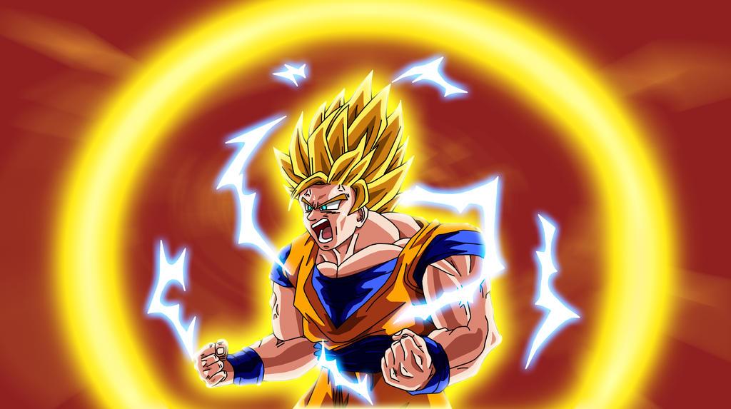 Super saiyan 3 transformation by animefreakazoid6 on - Sangoten super sayen 3 ...