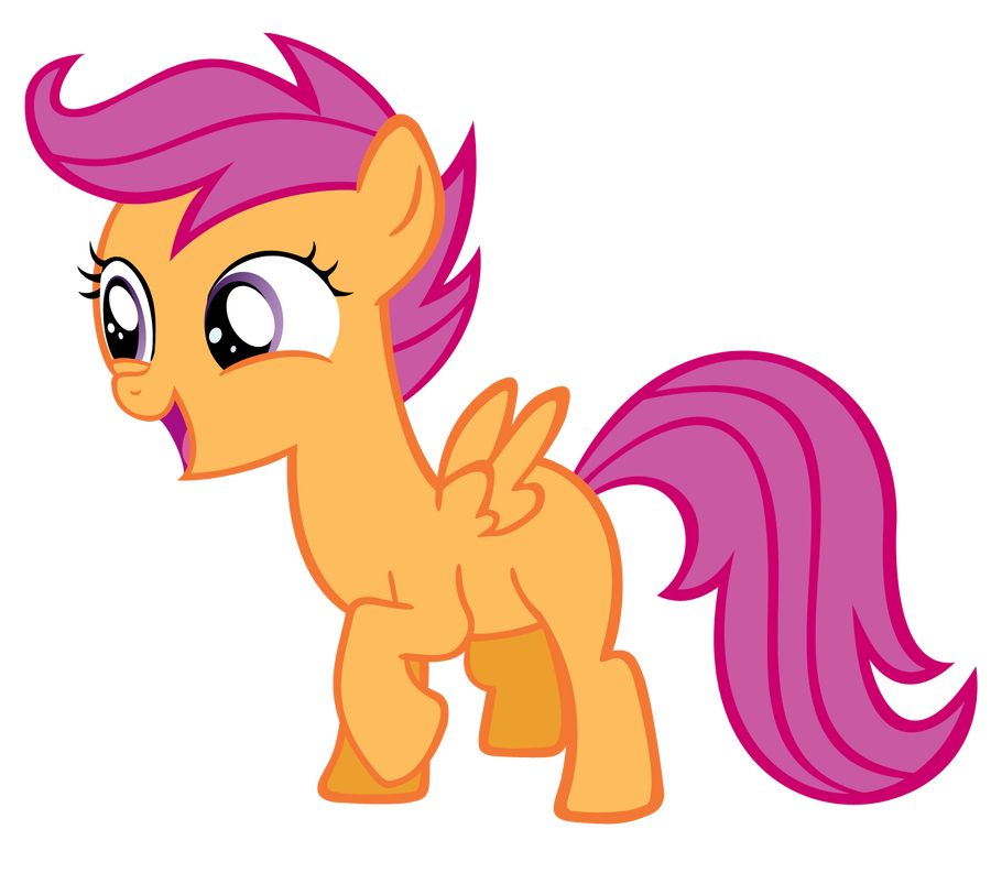 Scootaloo MLP by Rayne...