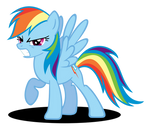 Rainbow Dash 'Grrr' Face