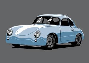 Porsche 356 JPS