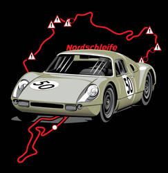 Porsche Nurburgring 1964