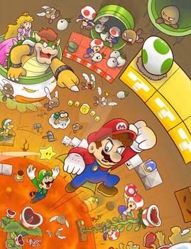Super Mario Brothers 2011