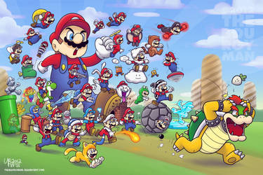 31 Years of Power-Ups by TheBourgyman