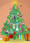 Christmas Community Collab 2012 by TheBourgyman
