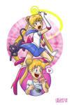 Usagi Tsukino, alias Sailor Moon