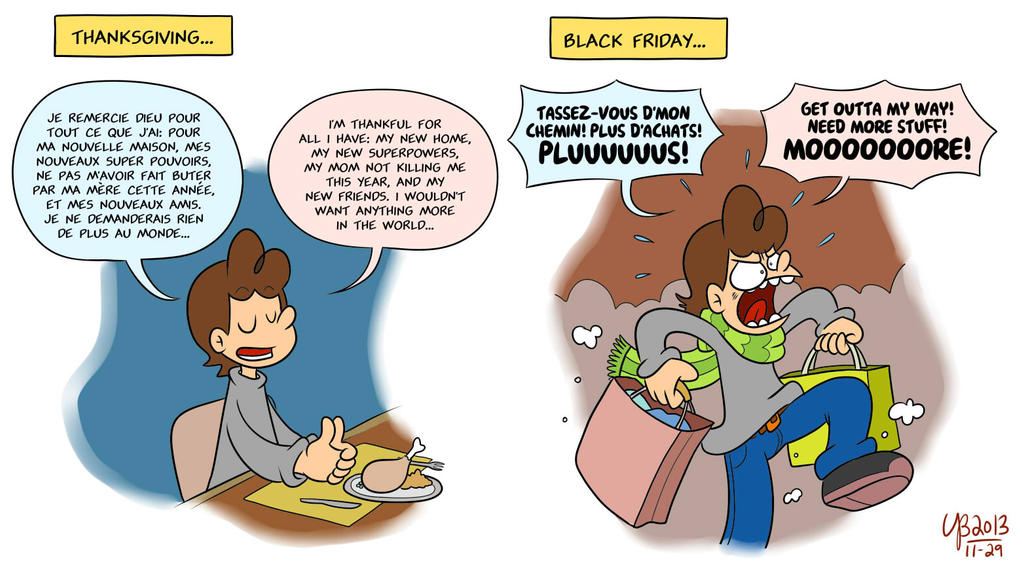 Thanksgiving vs black friday by thebourgyman on deviantart - 3 suisses black friday ...