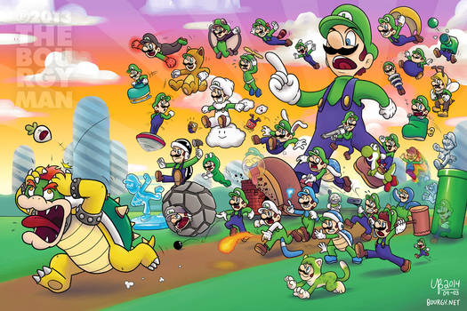 33 Years of Power-Ups (Luigi version)